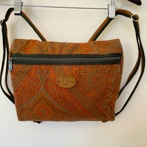 ETRO vintage paisley small backpack
